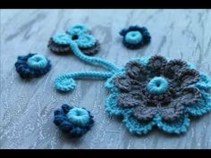 Video 3 - YouTube. Beautiful crochet work !