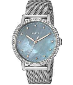 Reloj Fossil para mujer analógico al precio más barato. #relojes #fossil #relojmujer