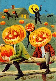 Halloween Vintage Postcard jigsaw puzzle