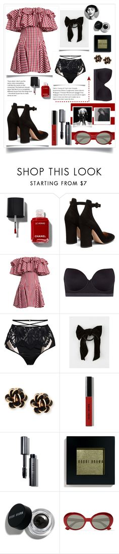 """""""Salsa date"""" by eevee996 ❤ liked on Polyvore featuring Gianvito Rossi, House of Holland, DKNY, For Love & Lemons, Full Tilt, Chantecler, Bobbi Brown Cosmetics, Yves Saint Laurent and Tema"""