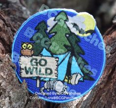 Need an easy way to plan a camping or hiking trip, which includes a patch for girls to earn? 12 page Program Guide complete with game cards, photo log, scavenger hunt, and TONS of ideas.  http://www.bcgpatches.com/store/p23/GoWildGuide Patches are:  $2/each inc. shipping. Fully embroidered, sew on. Order here: http://www.bcgpatches.com/store/p25/GoWildPatch Get in touch with nature and explore, all while practicing Leave No Trace.