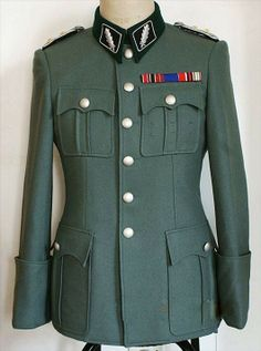WWii Nazi German Officer Schutzstaffel SS M41 Uniform Set Elastique