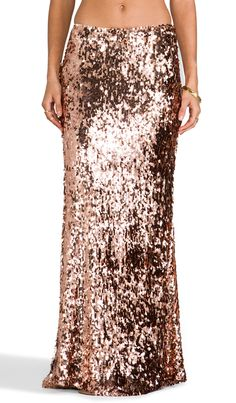 rose gold sequin skirt #holiday