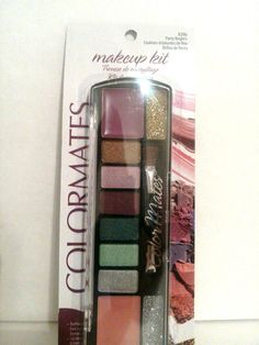 Makeup Kit Eyeshadow & Lip Gloss Palette with Glitter by Colormates