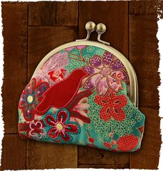 """""""Obi Kiss Lock Purse"""" from the new Fall Karma collection. Boho inspired. Prairie Patches, Lawrence, KS, (785)749-4565."""