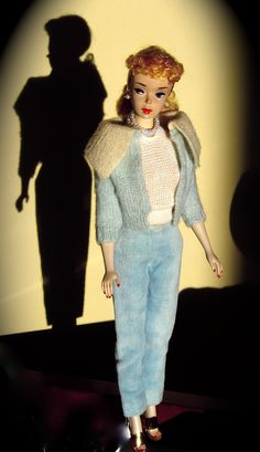 "#3 Ponytail Barbie in ""Mood for Music""- lost these pants years ago. Anyone have a spare pair."