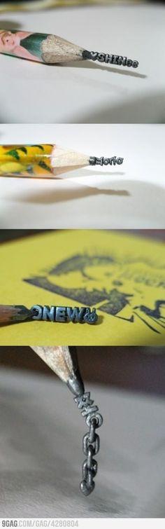 Korean pencil art