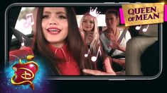 They're gonna bow to the evil Queen, your nightmare's my dream, just wait until they fall to my wicked schemes 🎶 Sarah Jeffrey shows why she's the queen when. Descendants Music, Disney Descendants 3, Sarah Jeffery, Isle Of The Lost, Cheyenne Jackson, China Anne Mcclain, Booboo Stewart, Fun Music, Sofia Carson
