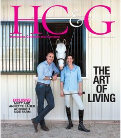 HC&G Jul 1, 2015 cover featuring Annette and Matt Lauer. #HC&G