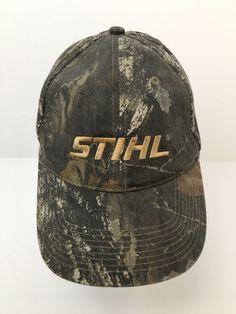 742d9e33782 Stihl Camo Baseball Hat Cap Camouflage Adjustable Cotton  STIHL  BaseballCap
