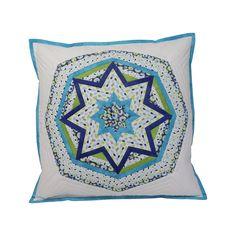 MESAČNÝ SVIT Throw Pillows, Handmade, Scrappy Quilts, Toss Pillows, Hand Made, Cushions, Decorative Pillows, Decor Pillows, Scatter Cushions