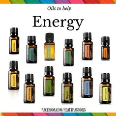 Many oils help assist with an energy boost. What's your favorite flavor ?