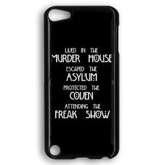 American Horror Story Cover iPod Touch 5 Case