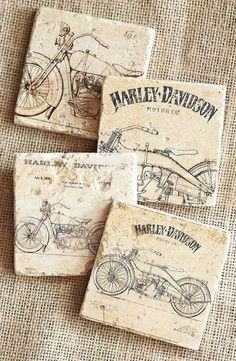 Motorcycle Motorcycles Home Decor Harley Davidson by lotuspetale