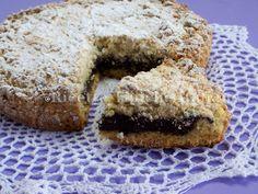 ricette_tipiche_italiane_Sbriciolata con crema al cioccolato amaro