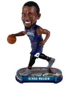 6d3d42614bc Forever Collectibles Kemba Walker Charlotte Hornets Headline Bobblehead    Reviews - Figurines - Home Decor - Macy s