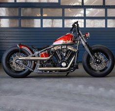 Harley Davidson News – Harley Davidson Bike Pics Softail Bobber, Bobber Bikes, Harley Bobber, Harley Softail, Harley Bikes, Bobber Chopper, Indian Motorcycles, Triumph Motorcycles, Custom Motorcycles