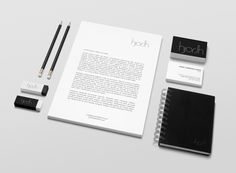 Visual identity for the Danish consulting company hjorthGROUP