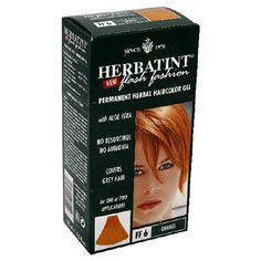Herbatint Flash Fashion Permanent Herbal Haircolor Gel, with Aloe Vera, Orange FF6, 4.5-Ounces  (Pack of 2) -- Find out more about the great product at the image link.