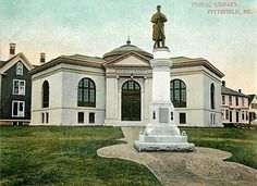 Public Library, Pittsfield, ME - List of Carnegie libraries in Maine - Wikipedia, the free encyclopedia
