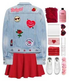 """""""☽✧ i'm so in love with you"""" by blonde-scorpio-xo ❤ liked on Polyvore featuring rag & bone, Yvng Pearl, Logophile, Vans, Brooks Brothers, Woven Workz, Fresh, Moschino and philosophy"""