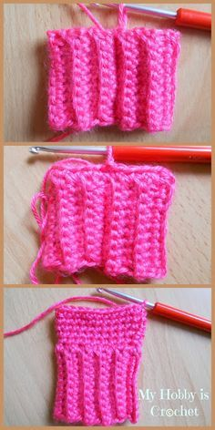 My Hobby Is Crochet: Crochet Toddler Mittens Ceyla - Free Pattern with Tutorial