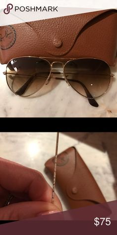 Ray Bans Price is Firm🎀 Very good condition I don't even want to say there's a scratch because because it's so hard to see. Its practically not there!! Good deal I just would really prefer the blue tint. I had a pair but they grew legs and walked out of the house. Ray-Ban Accessories Glasses