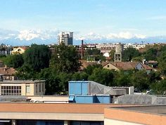 Samantha Di-Giusto: On a clear day in Milan from my classroom you can actually see the Alps. It is a beautifully distracting view! I look out the window in such awe of the majestic mountains.
