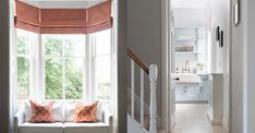 Specialising in the building and design of her client's homes Sophie Peckett Design studio creates inspiring interiors that maintain a delicate balance between form and function. Valance Curtains, Georgian Townhouse, Luxury, Interior Inspiration, Roman Shade Curtain, Townhouse, Design Studio, Interior Design, Home Decor