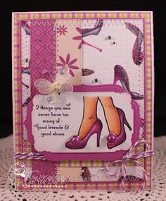Golden Inkspirations: Purple Shoes, Please