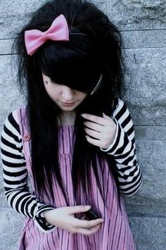 Cute Emo Girl Hairstyles