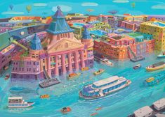 Zsolt Vidak is an award winning illustrator, stamp designer, comic artist. His Budapest cityscapes and personal artworks are available in limited edition giclée prints. Dog Show, Comic Artist, Budapest, Art Direction, Digital Art, Design Inspiration, Graphic Design, Wall Art, City