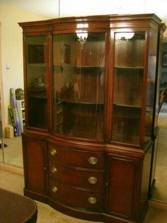 craigslist china cabinet antique cabinets with glass doors antique mahogany 14185