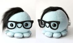 Skrillex octopus by Cheek and Stitch Electric Daisy Carnival, Hippie Costume, Daft Punk, Emo Bands, Vinyl Toys, Band Merch, Steampunk Diy, Dubstep, Cute Characters