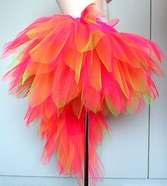 Bird of Paradise Fantasy Tutu with stunning Tail. Carnival/Dance/Festival/Hen