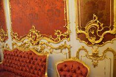 Орнамент и стиль в ДПИ - А.Брюллов, Г.Боссе. Будуар в Зимнем дворце, Санкт-Петербург. 1839-1853