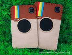 felt mobile phone case for instragram lovers <3