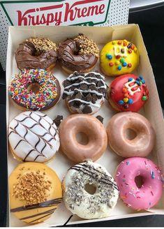 Sweet Recipes, Snack Recipes, Dessert Recipes, Healthy Recipes, Think Food, I Love Food, Delicious Donuts, Yummy Food, Comida Disney