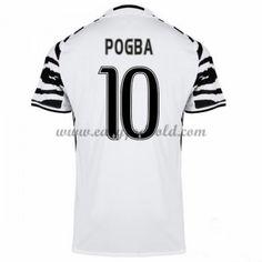 Fodboldtrøjer Series A Juventus 2016-17 Pogba 10 3. Trøje