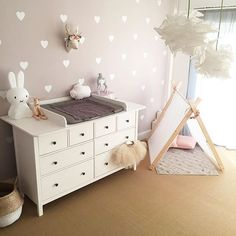 J& 8 825 fois, 123 commentaires - IKEA Germany (IKEA Germany) sur Ins . Baby Bedroom, Baby Room Decor, Nursery Room, Girl Nursery, Girl Room, Ikea Baby Room, Beige Nursery, Baby Room Design, Project Nursery