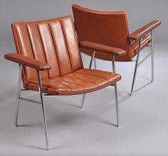 Hans Wegner; #AP-52 Chairs for AP Stolen, c1963.