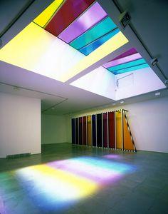 Dislocated Skylight, 2007 | Daniel Buren | Exhibitions | Lisson Gallery