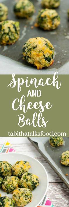 These baked spinach and cheese balls are made with panko, parmesan and cheddar cheese. Prep ahead of time and they'll make a great appetizer for the crowd!