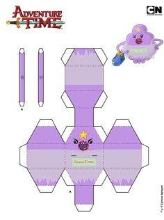 princesa caroço papercraft - Pesquisa Google