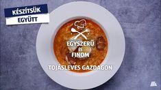 Egyszerű és finom. Készítsd el Te is ezt a finom levest! Jó étvágyat kívánunk! Youtube, Youtubers, Youtube Movies
