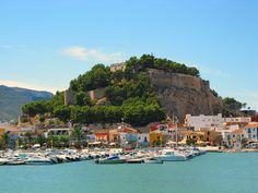 Denia, Spain. beautiful city where i spent a summer, made so many wonderful friends, and met my future hubby :)