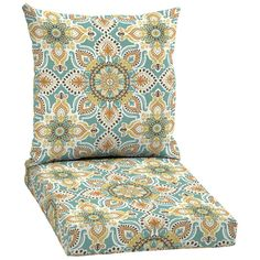 Hampton Bay Montigo Welted Dining Outdoor Seat Cushion-JE15067B-9D4 - The Home Depot
