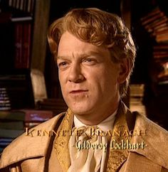 Gilderoy Lockhart -- favorite color is lilac.   (Kenneth Branagh)