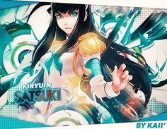 Signature of Kiryuin Satsuki of Kill La Kill by KaiichiiGFX