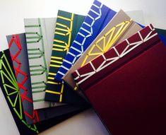 Photo albums with stab binding by BubiRu at DaWanda.com